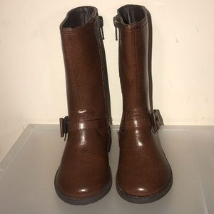 New w/o Tags Tall Toddler Chocolate Boots